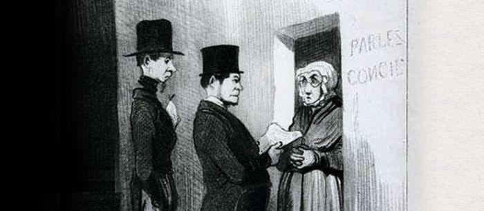 Honoré Daumier (1808-1879), Gens de justice