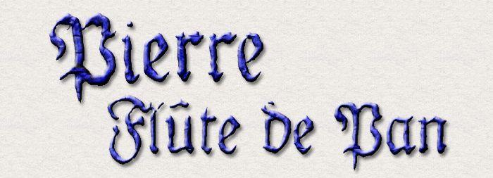 Pierre, accordeur, calligraphie, aussi, dessine joliment et pratique l'amitié comme un art de vivre