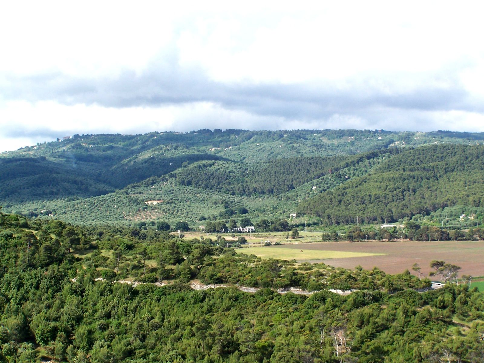 paysage du Promontoire de Gargano