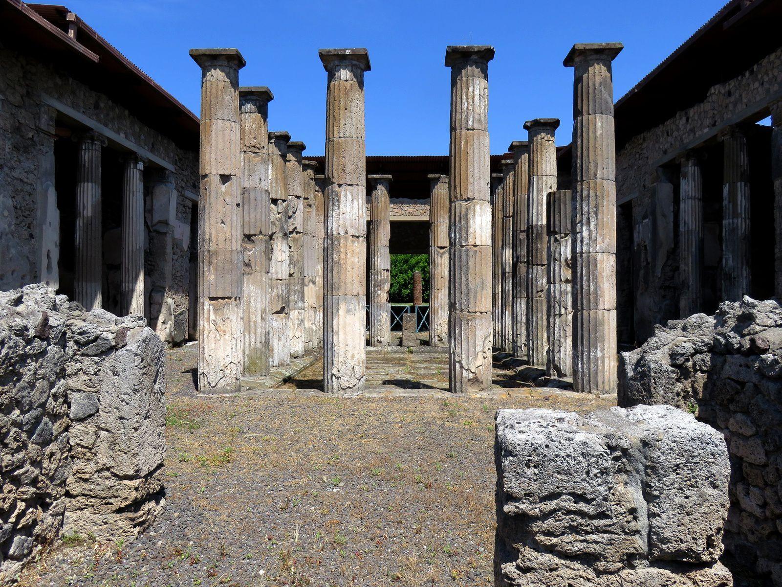 italie du sud  : pompei