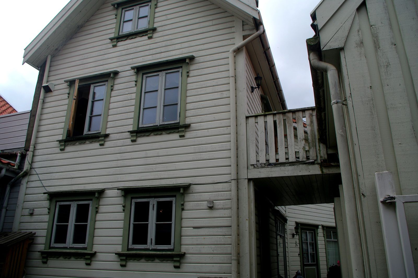 maisons blanches d'Egersund