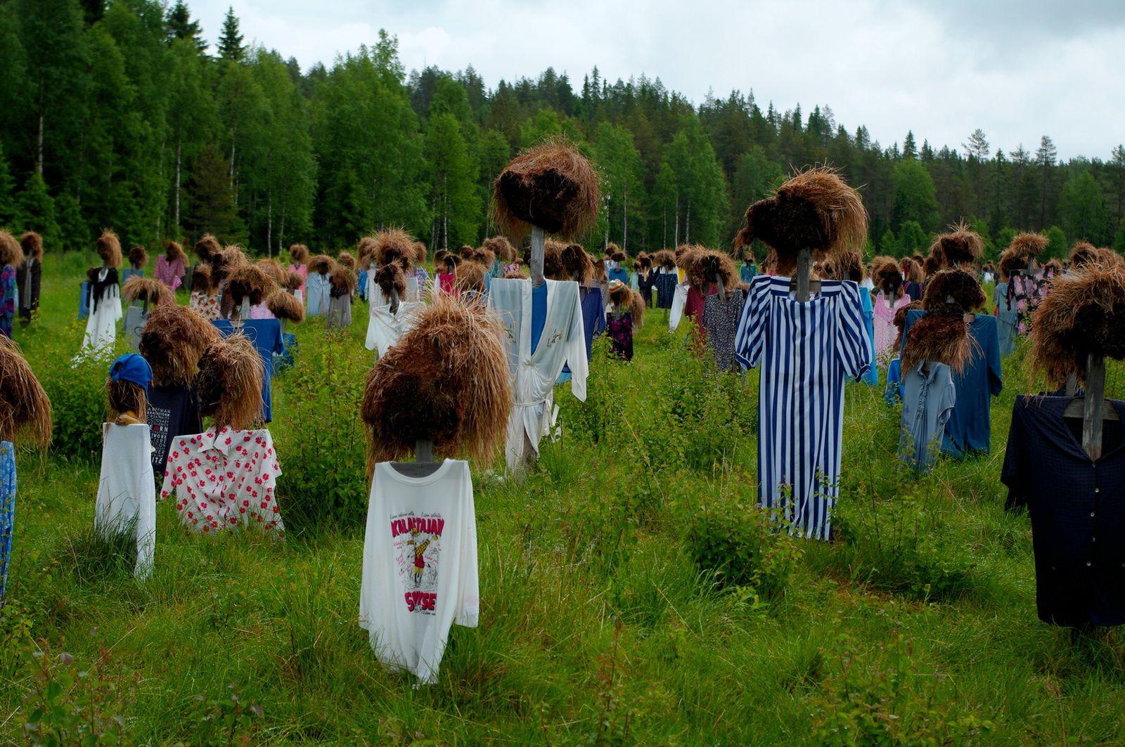 finlande: dans les environs de suomussalmi
