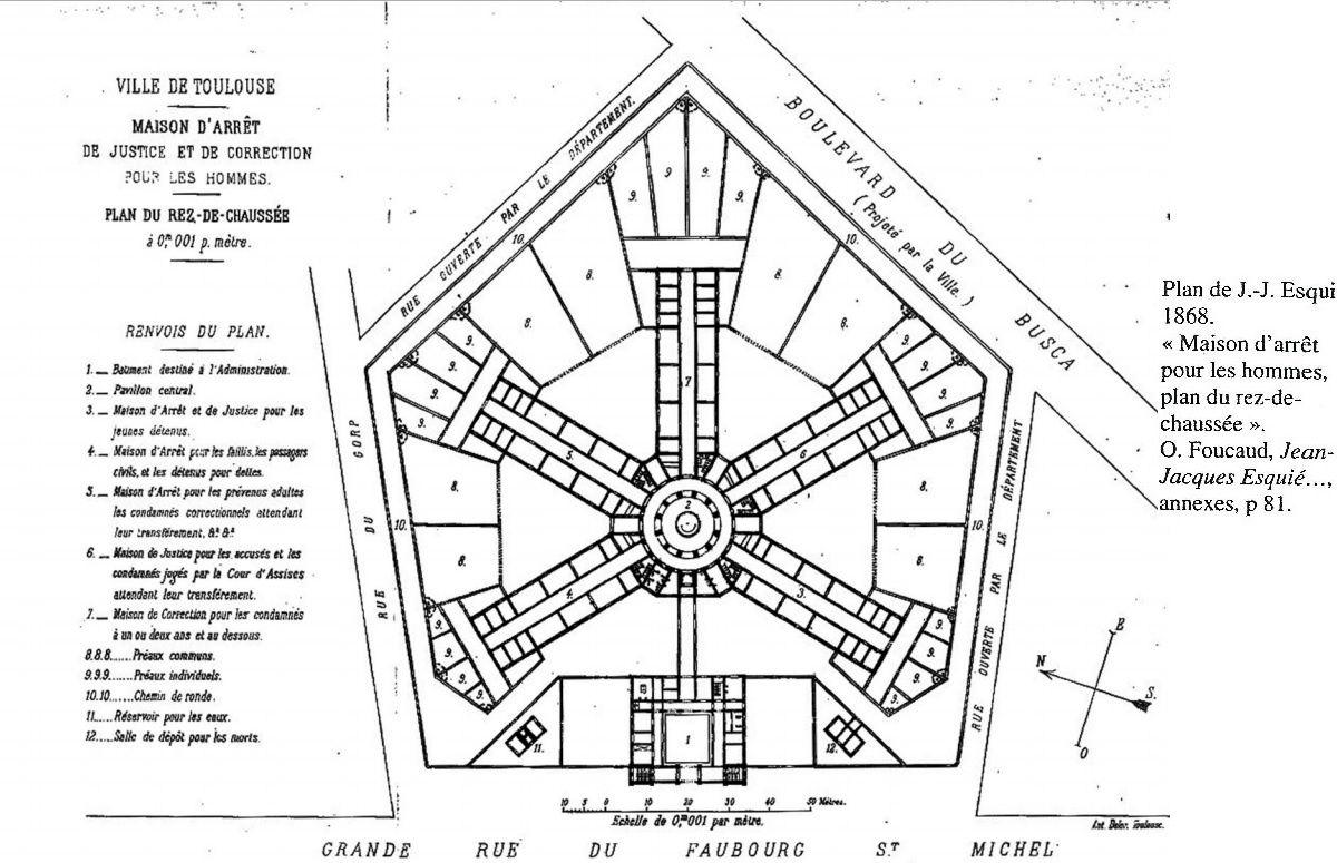 HISTOIRE DE LA CONSTRUCTION DE LA PRISON ST MICHEL