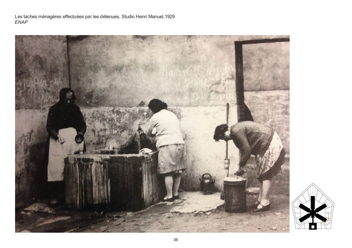Prison St Michel : Photographies des XIXème et XXème siècle.