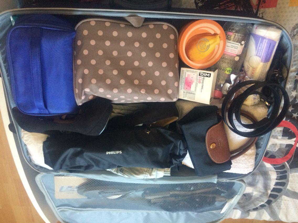 &quot&#x3B;Ce que j'emporte en vacances&quot&#x3B; la valise
