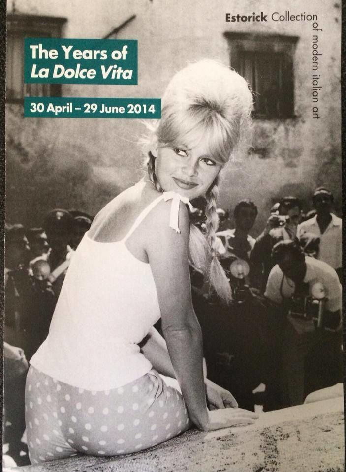 Exposition La Dolce Vita of 1960s Rome...