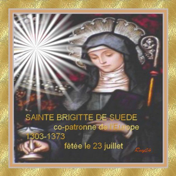 Sainte Brigitte...