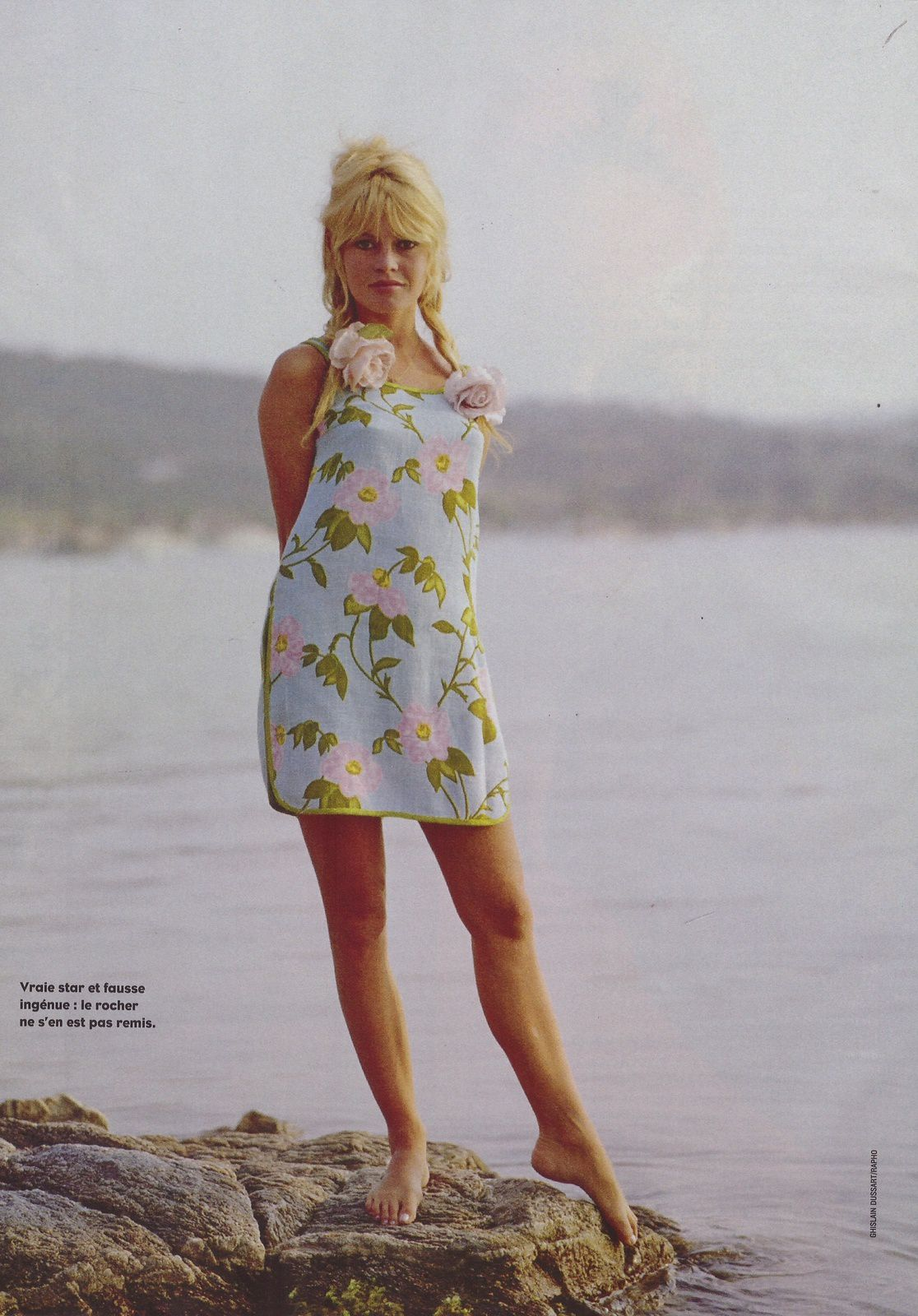 Brigitte Bardot dans le Figaro magazine du 16 08 2014