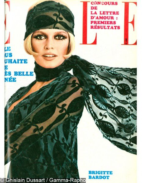 Interview : Brigitte Bardot, la première icône de ELLE