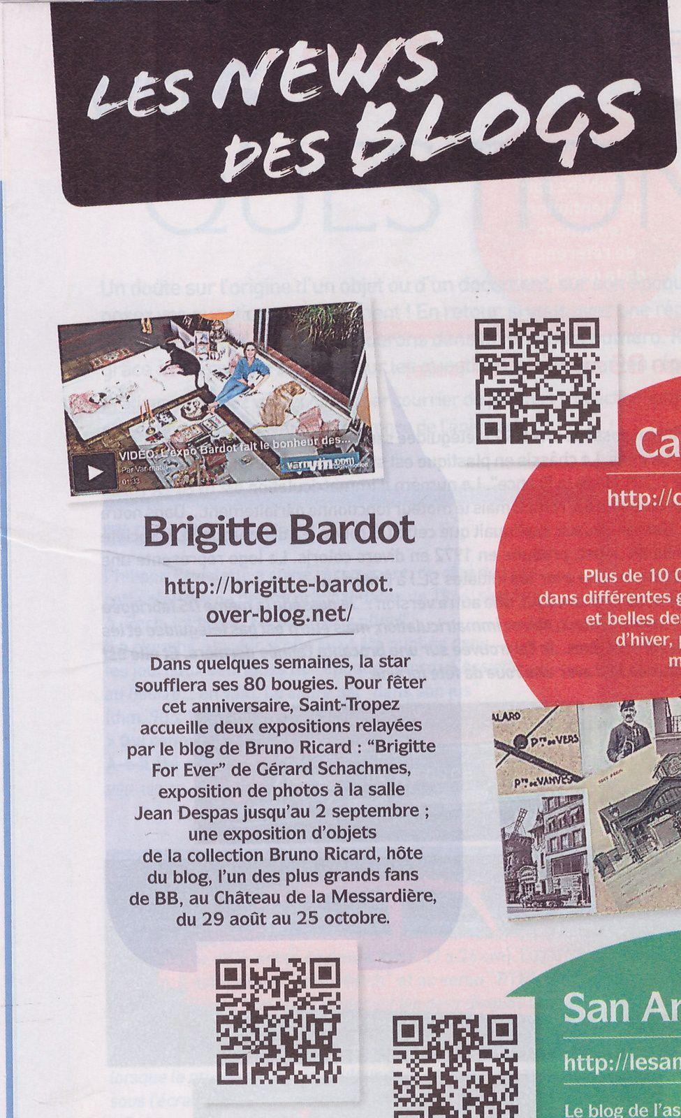 Le blog Brigitte Bardot dans &quot&#x3B;Collectionneur et Chineur&quot&#x3B;