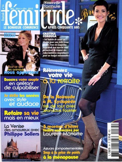 &quot&#x3B;Fémitude&quot&#x3B;...sorti le 17 12 2014...Brigitte Bardot...