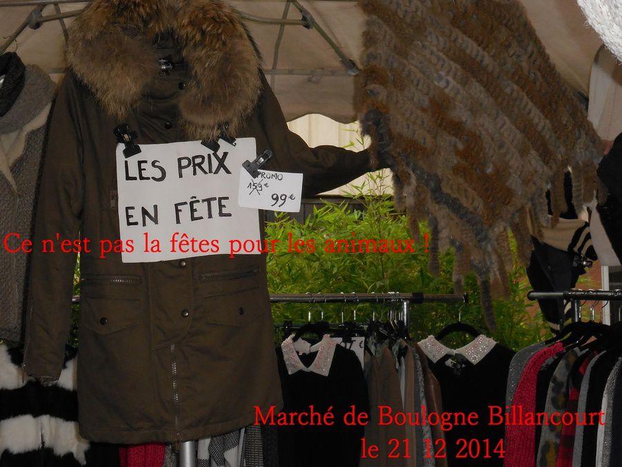 Boulogne Billancourt envahie par la fourrure !