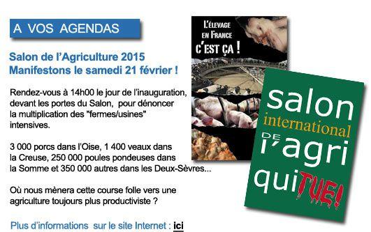Fondation Brigitte Bardot manifestation le 21 février devant le salon de l'agriculture