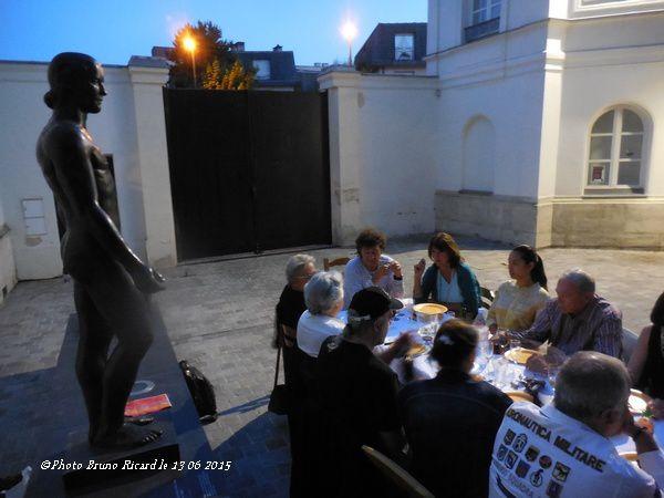 Robert Charlebois, Yves Boisset, David Bolling...Soirée du 13 juin 2015 à la maison...