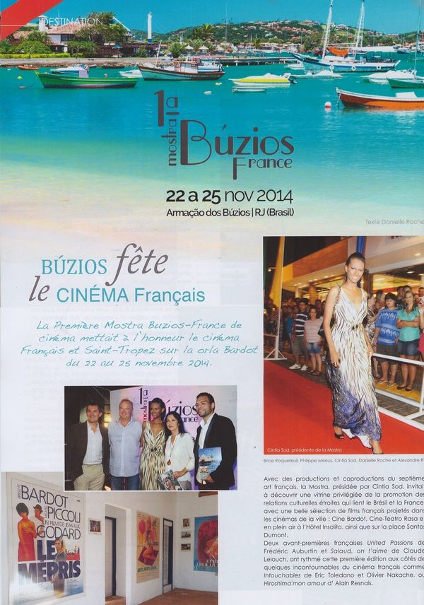 "Brigitte Bardot magazine ""Vivre Saint-Tropez"" n°14 de juin 2015"