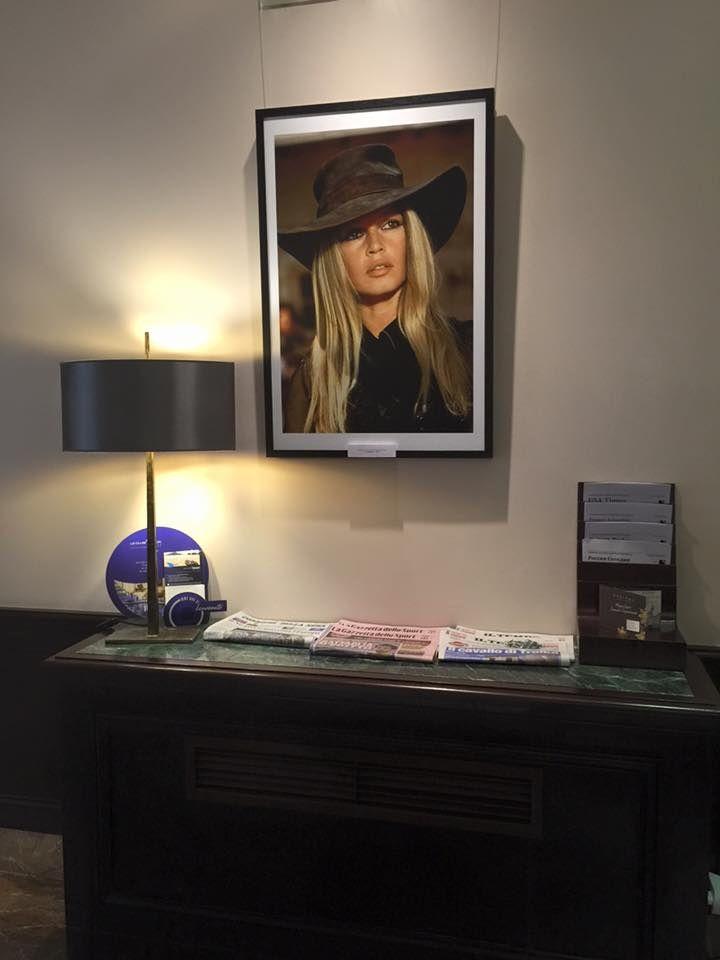 Brigitte Bardot exposition à Rome...