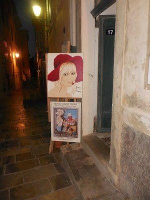 Serge le peintre de Saint-Tropez...