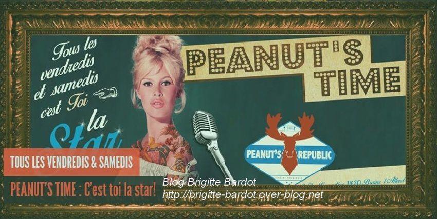 Brigitte Bardot en star au Peanut's Republic (Belgique)