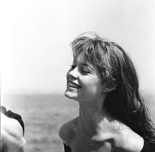 Brigitte Bardot au festival de Cannes de 1955