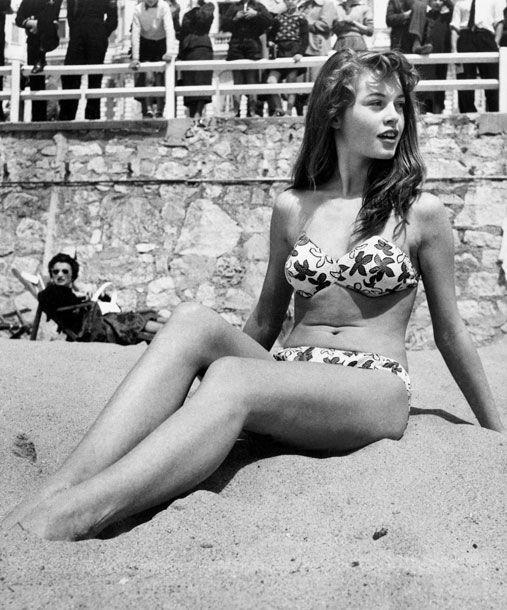 Brigitte Bardot au festival de Cannes de 1953