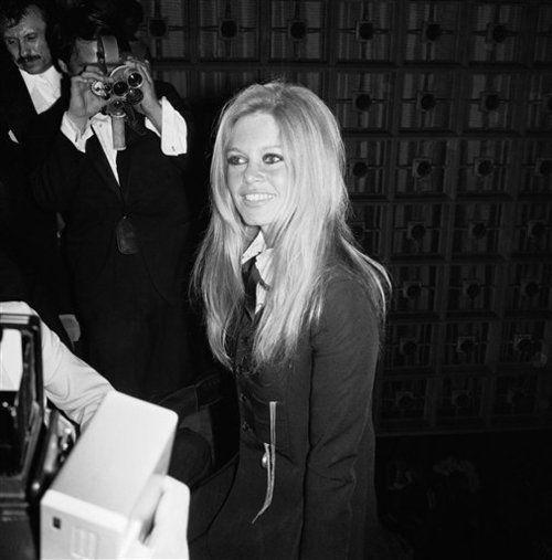 Brigitte Bardot au festival de Cannes de 1967