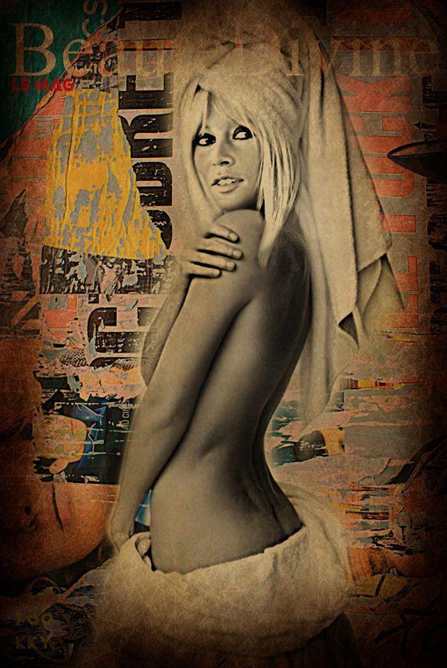 Brigitte Bardot par Francky Art...