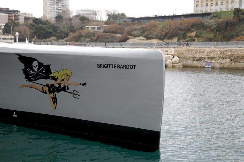 """Le trimaran """"Brigitte Bardot"""" ouvert au public"""