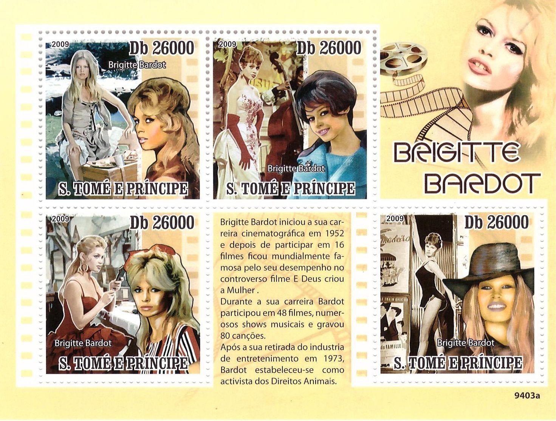 Brigitte Bardot...en timbres !