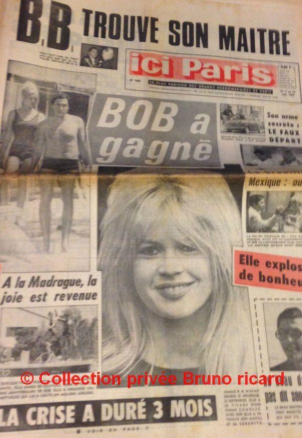 Ici Paris n°1054 du 08 au 14 09 1965