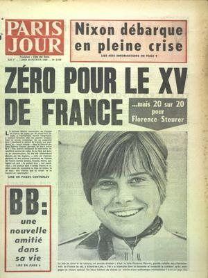 Paris jour n°2939 du 24 02 1969