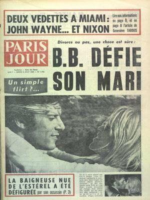 Paris jour n°2766 du 06 08 1968