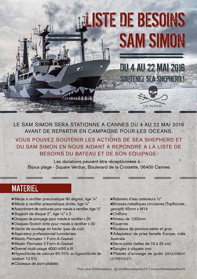 Sea Sheperd a besoin de vous !