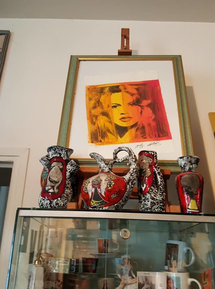 Brigitte Bardot : Mes collections...