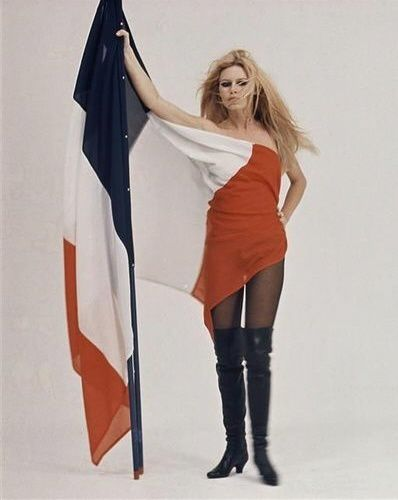 Brigitte Bardot en 1959 par Richard Avedon.