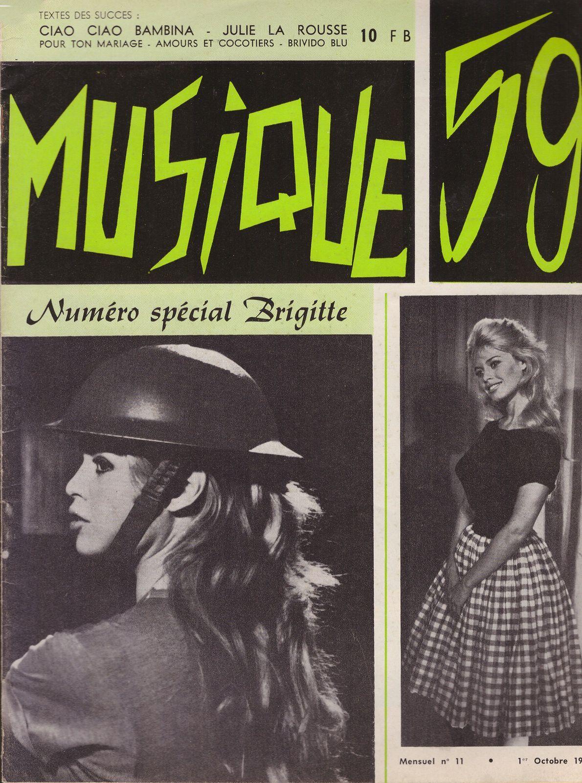 Brigitte Bardot : Nouveautés dans mes collections...suite (1)