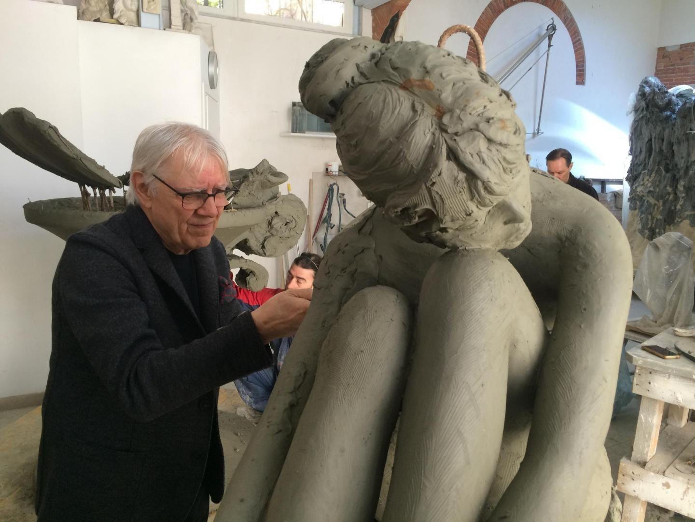 PHOTOS. Découvrez la sculpture de Brigitte Bardot qui trônera à l'entrée de Saint-Tropez cet été
