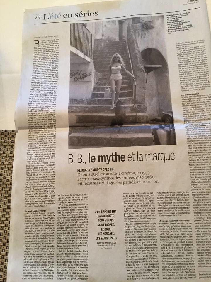 Brigitte Bardot : Le mythe et la marque !