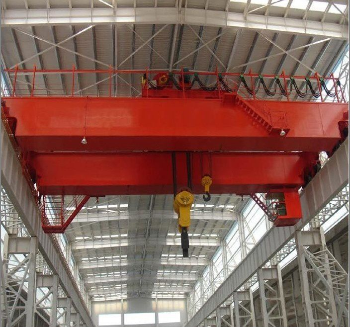 Overhead Crane Electrical Maintenance : Use loaders and routine maintenance electric hoists