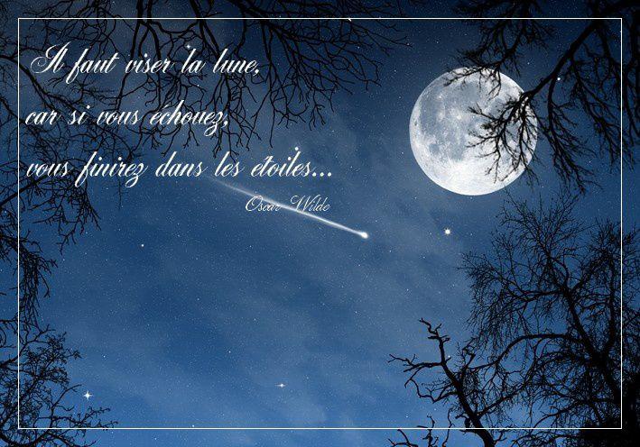 visez la lune
