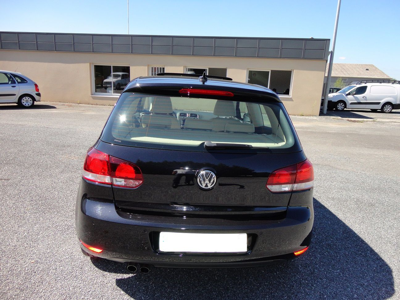 golf 6 2 0 tdi 140 carat 3 portes hb automobile. Black Bedroom Furniture Sets. Home Design Ideas