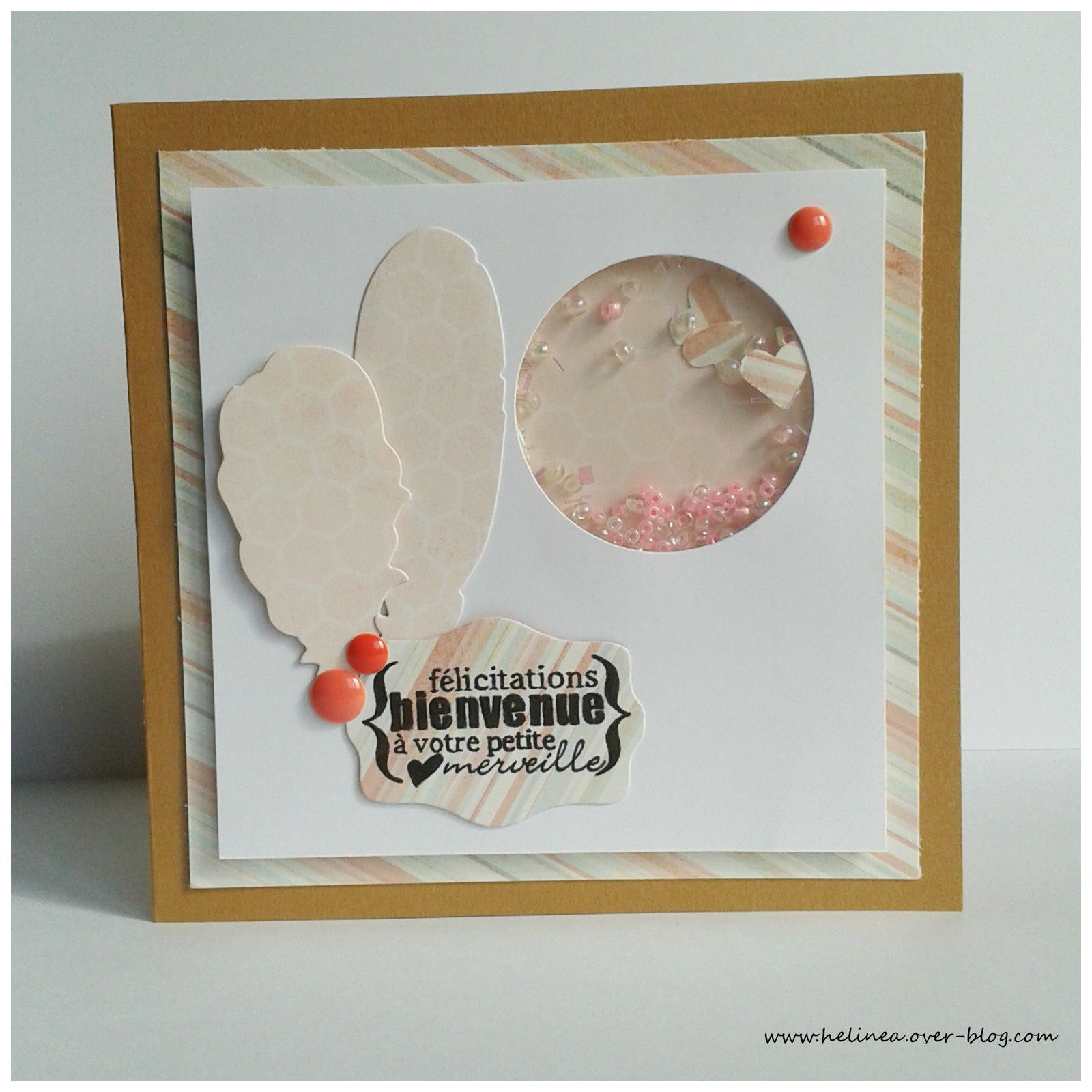 Carte Félicitations/Naissance