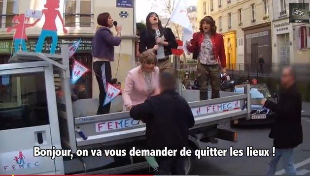 Vidéo Action discrète : Les Femecs (parodie anti-mariage pour tous).