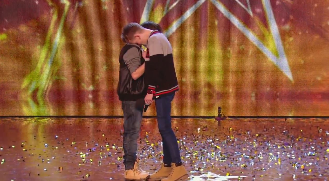 Vidéo Britain's got talent : l'épatant duo Bars &amp&#x3B; Melody.