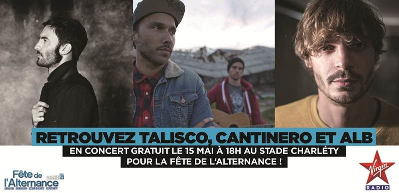 Concert Gratuit Virgin Radio ce jeudi au Stade Charléty.