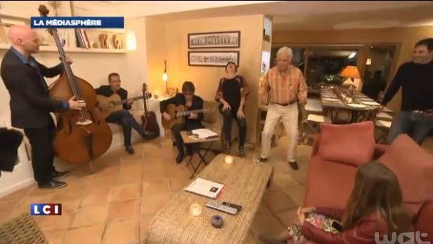 Fais-moi une place avec Guy Bedos en Corse : extrait vidéo.