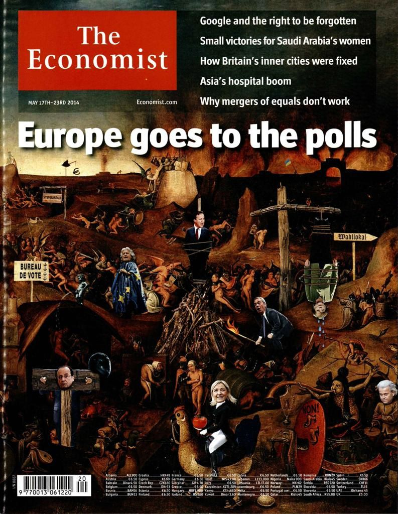 Presse internationale : Le Pen en Une du Time et de The Economist.