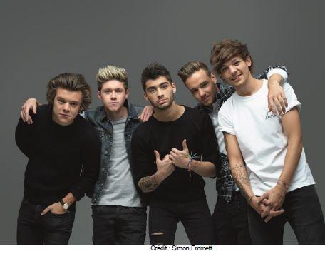 Le groupe One Direction à l'honneur le 18 juin sur D17.
