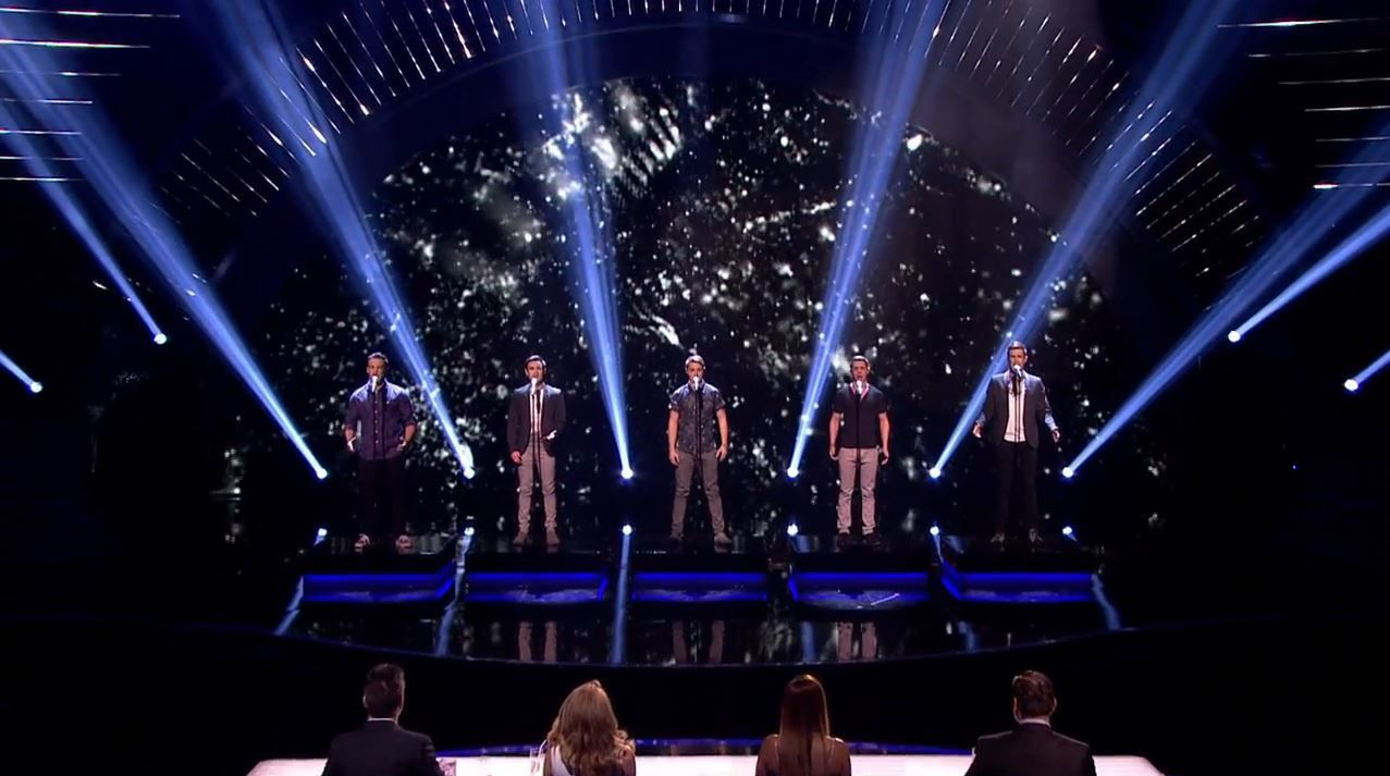 Darcy Oake et Collabro en finale de Britain's got talent (Vidéos).