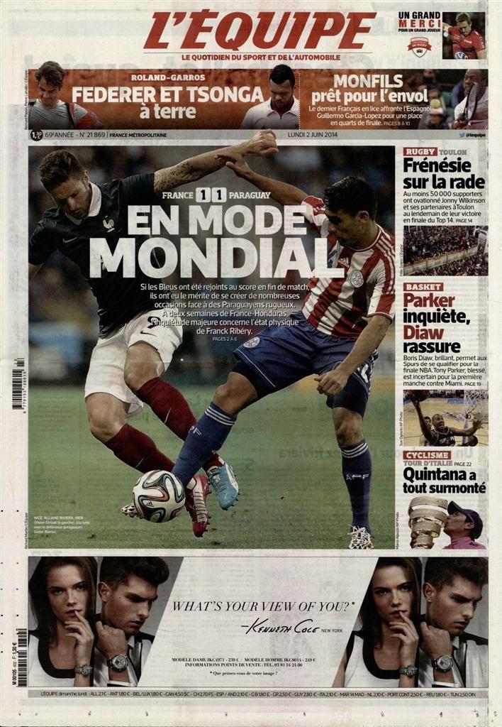 Très bonne audience pour France - Paraguay.
