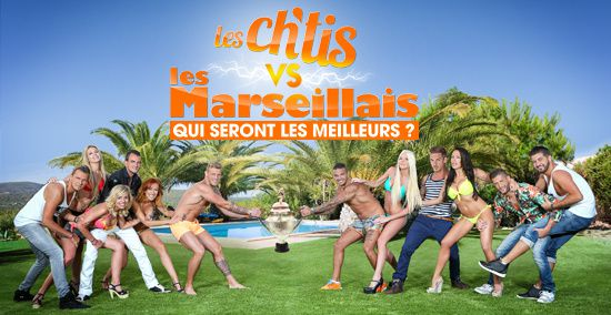 Ch'tis Vs Marseillais sur W9 : record de part d'audience.